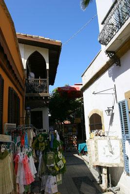 Die Altstadt ist der einzig interessante Teil Nikosias - auf beiden Seiten der Mauer