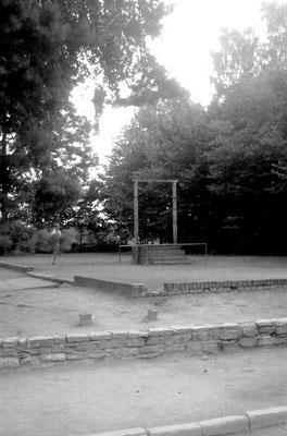 Hinrichtungsstätte des berüchtigen Kommandanten Höss