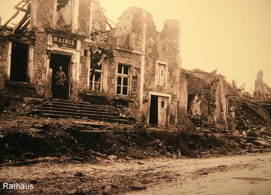 Reste des ehemaligen Rathauses