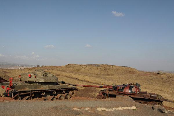 Am 6.10.1973, dem Versöhnungstag (Yom Kippur) drangen syrische Truppen auf die Golanhöhen und am See Genezareth vor, wurden aber von israelischen Truppen zurückgeschlagen.