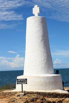 Vasco da Gama-Denkmal in Malindi aus dem 16. Jhdt.