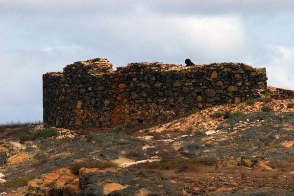 Isle de Sal Rei - vorgelagerte kleine Insel mit Resten einer portugiesischen Festung