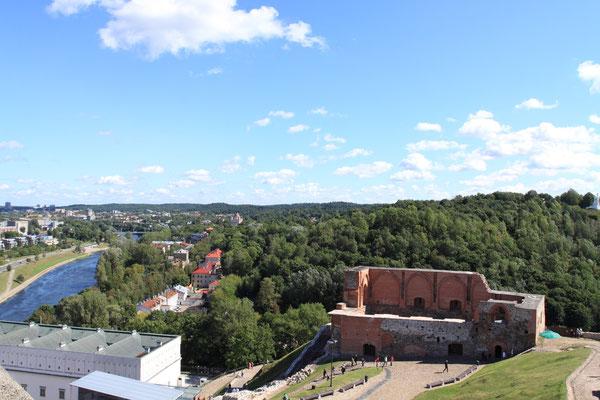 Blick vom Turm auf die Altstadt