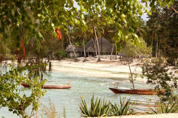 Kleines Fischerdorf in Kizimkazi