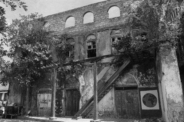 Viele Häuser der Altstadt sind nicht mehr bewohnbar und einsturzgefährdet