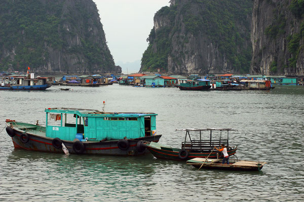 die Touristenschiffe dürfen hier nicht hin