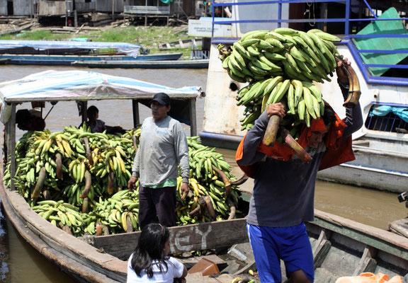Iquitos ist das wichtigste Handelszentrum in einem Umkreis von mehreren hundert Kilometern.