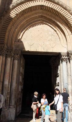 Der Besuch der Grabeskirche ist das beeindruckenste Erlebnis in Jerusalem