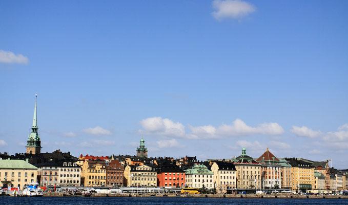 Die Aussicht vom Turm auf die Silhouette der Stadt ist einzigartig.