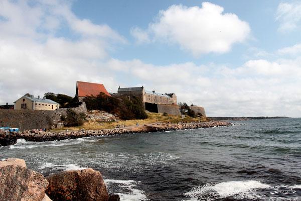Lange Zeit stritten Schweden und Dänen um die Vorherrschaft, die massive Festung von Varberg aus dem 13. Jhdt. sollte Übergriffe verhindern.