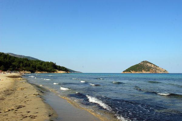 Schöner Strand am paradise beach