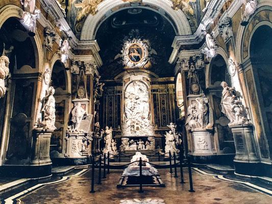 Cappella Sansevero- ein zauberhaftes Denkmal mit grandioser Ausstattung im Totenkult