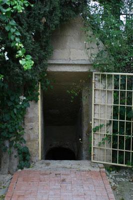 Eingang zu den Katakomben Du bon Pasteur