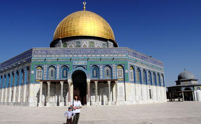 Wegen seiner kulturellen Bedeutung sowohl für Muslime, als auch für Juden, ist diese Stätte bis heute Zankapfel.
