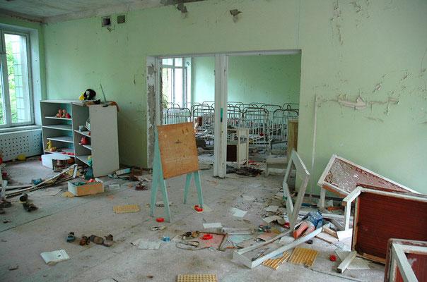 im Kindergarten der Geisterstadt