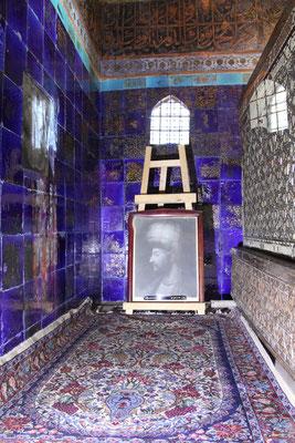 Das Heiligtum wurde im 13. Jhdt. von Scheich Safi al-Din gegründet, in dem er lebte und auch starb.