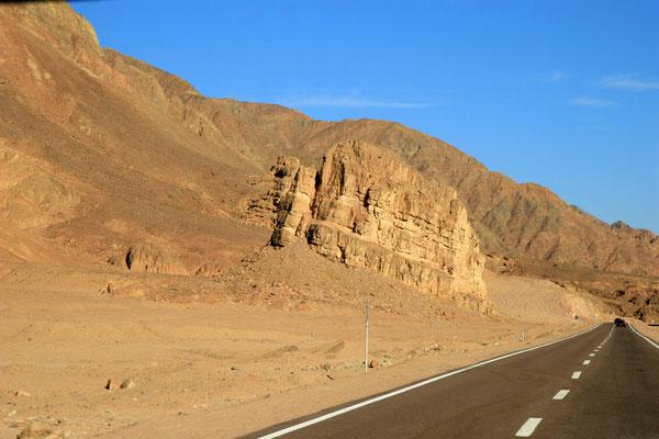 Felsformationen im Sinai