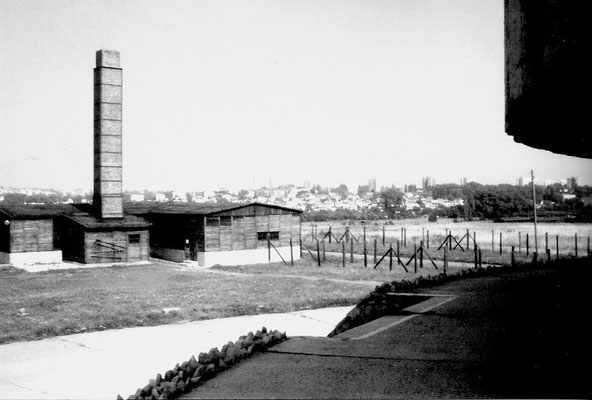 Einer der Verbrennungsöfen - die Gesamtfläche des Lagers betrug 270 ha.