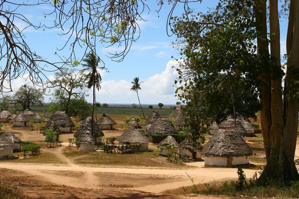 Typisches Dorf