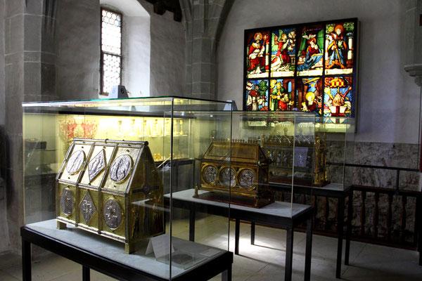 Ehemalige Klosterkirche der Benediktinerabtei mit reicher Schatzkammer