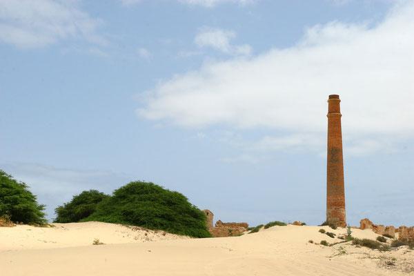 Fabrica da Chave - eine vor hundert Jahren erbaute Ziegelei, die nie in Betrieb genommen wurde