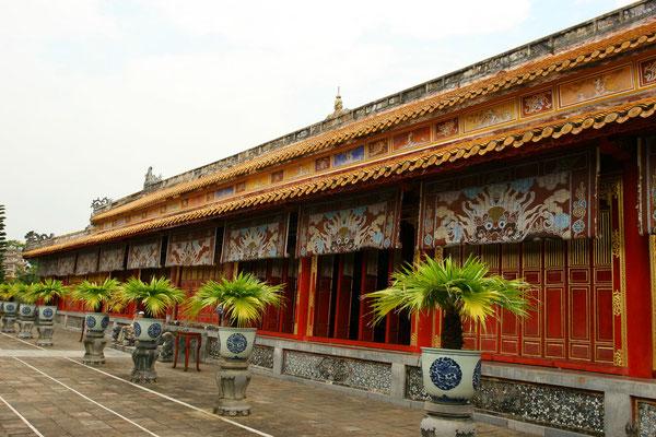 Der Thronsaal Dien Thai Hoa, die Halle der höchsten Harmonie