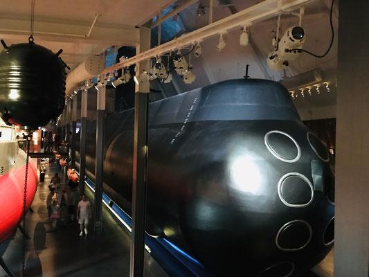 Hauptattraktion der Stadt ist das - kostenlose - Marinmuseum, in dem man nicht nur einen Blick in ein U-Boot werfen kann