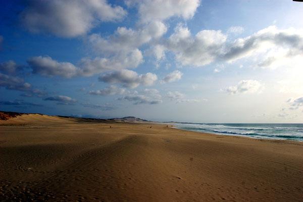 Abschied von einer traumhaften Insel an der Westküste Afrikas