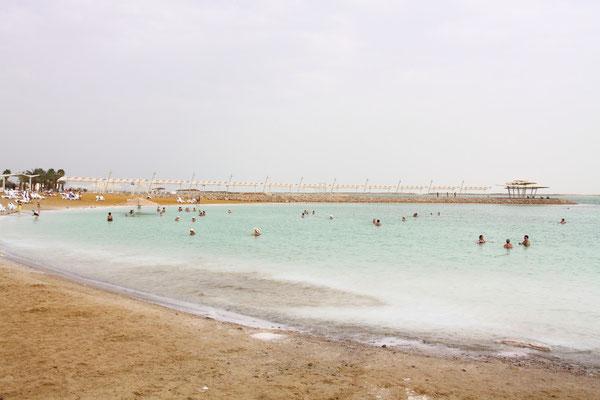 Nach soviel Kultur Entspannung am Toten Meer