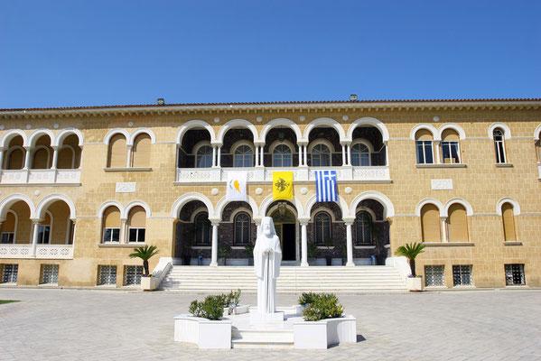 Neuer Erzbischofspalast: Als Zypern 1960 unabhängig wurde, ließ sich Makarios III diesen Palast erbauen