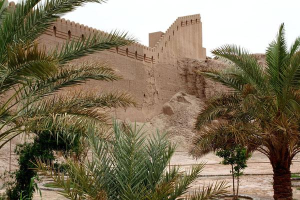 Errichtet im 7. Jhdt. markierte sie den Endpunkt des persischen Reiches vor der endlosen Wüste.