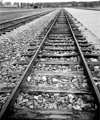 an der Selektionsrampe, am Gleisende Wendeplatz der Lokomotiven