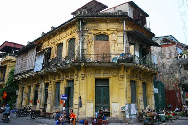 Die Altstadt Hanois steht mittlerweile unter dem Schutz der UNESCO als Weltkulturerbe