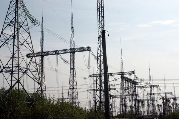 verstrahlte Strommasten ohne Nutzen