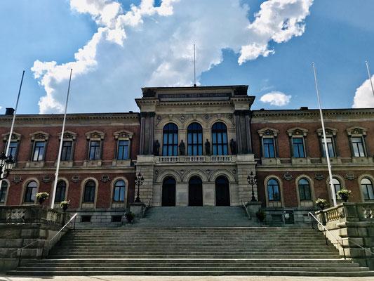 Bereits 1477 wurde die Universität von Uppsala gegründet.