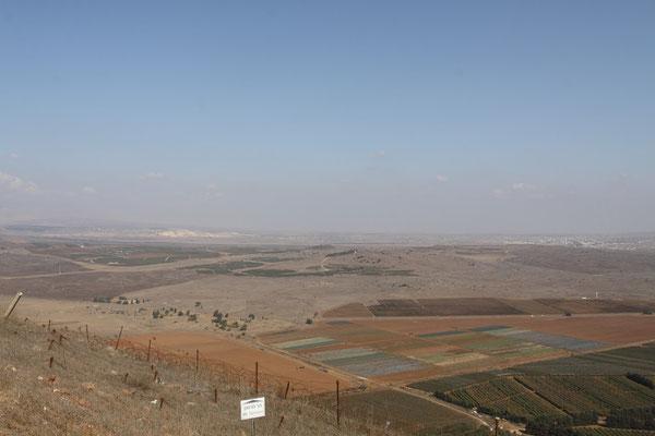 Grenzverlauf zu Syrien