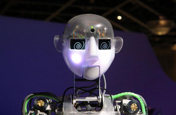 Der sprechende Roboter-die Zukunft hat begonnen