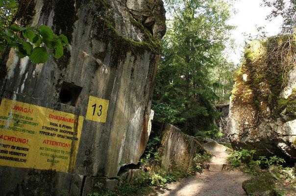 Ruine von Hitlers Bunker