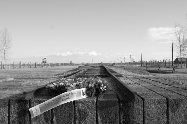 das Ende des Todesgleises