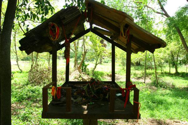 Geisterhaus - die Kambodschaner sind sehr abergläubisch
