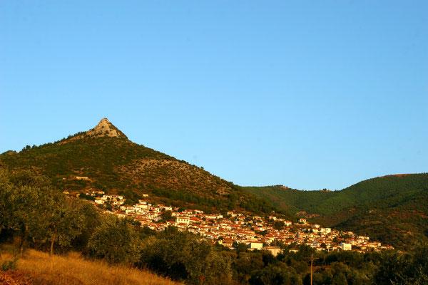 Das alte Dorf Kallirachi, erstmals erwähnt im Jahr 1440
