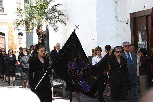Prozession für die Schutzpatronin aller Kanareninseln, die schwarze Madonna Virgen de la Candelaria,