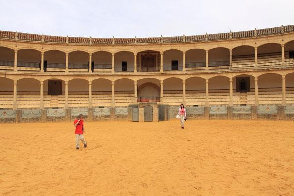 Ronda - Stadt der Stierkämpfe mit einer der ältesten Arena Spaniens.