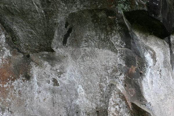 Die Petroglyphen wurden 1941 entdeckt. Diese Felsgravuren gehören zu den interessantesten Funden La Palmas.