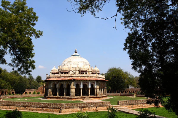 Das große Gelände wurde später auch zur Bestattung von weiteren Mogulen genutzt.