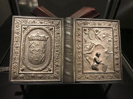 Die eigentliche Sensation in der Universität ist die Codex Argenteus - die silberne Gotenbibel von 520 n.Chr. Sie ist seit 2011 UNESCO-Weltkulturerbe