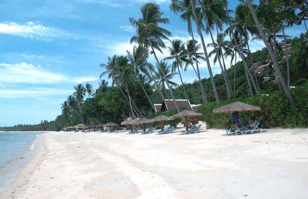 unser Strand am Chaweng beach