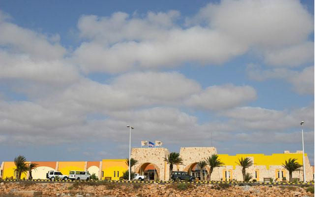 Der Flughafen Boavista wurde erst 2008 eröffnet, vorher war die Insel nur mit Frachtfähren erreichbar