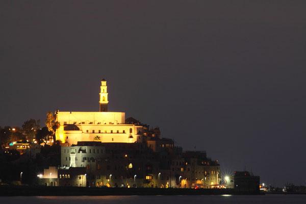 Blick auf Jaffa mit dem Franziskanerkloster St. Peter von 1654