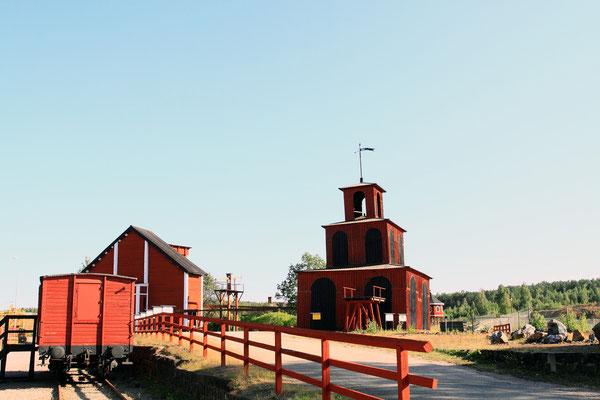 Historisches Liftsystem der Mine